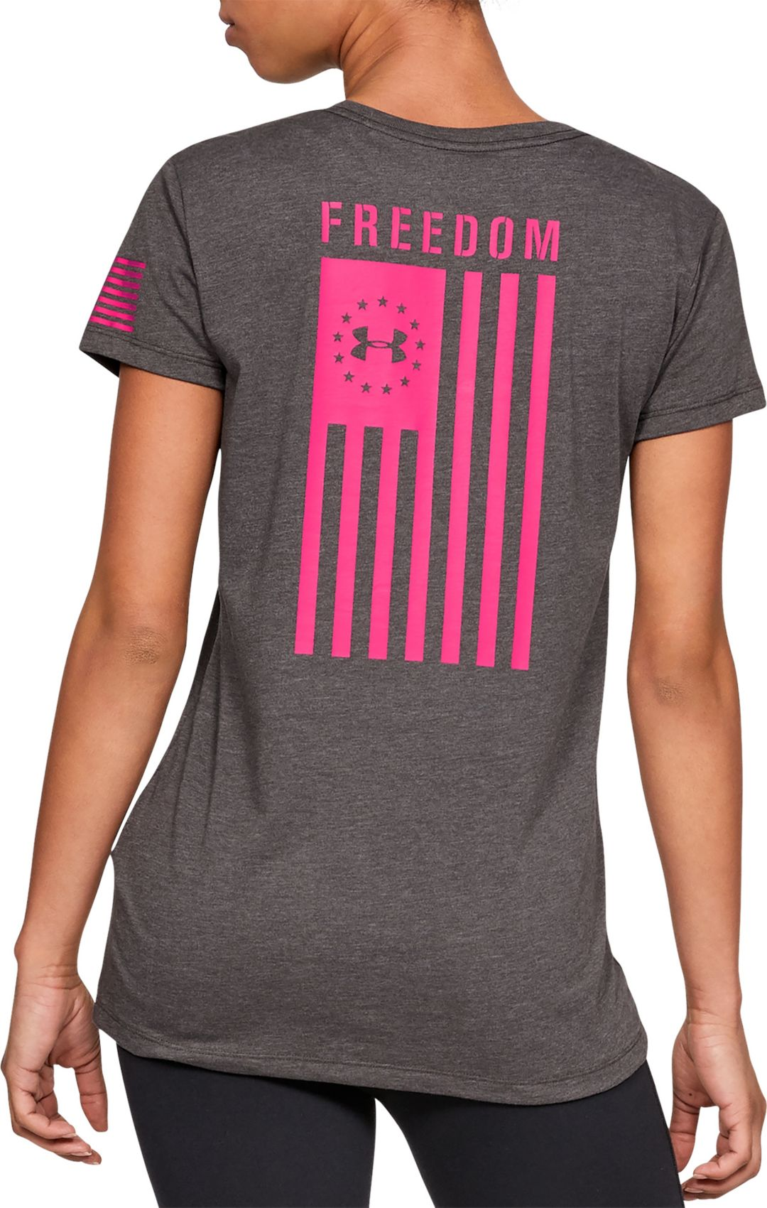 Under Armour Women's Freedom Flag T Shirt