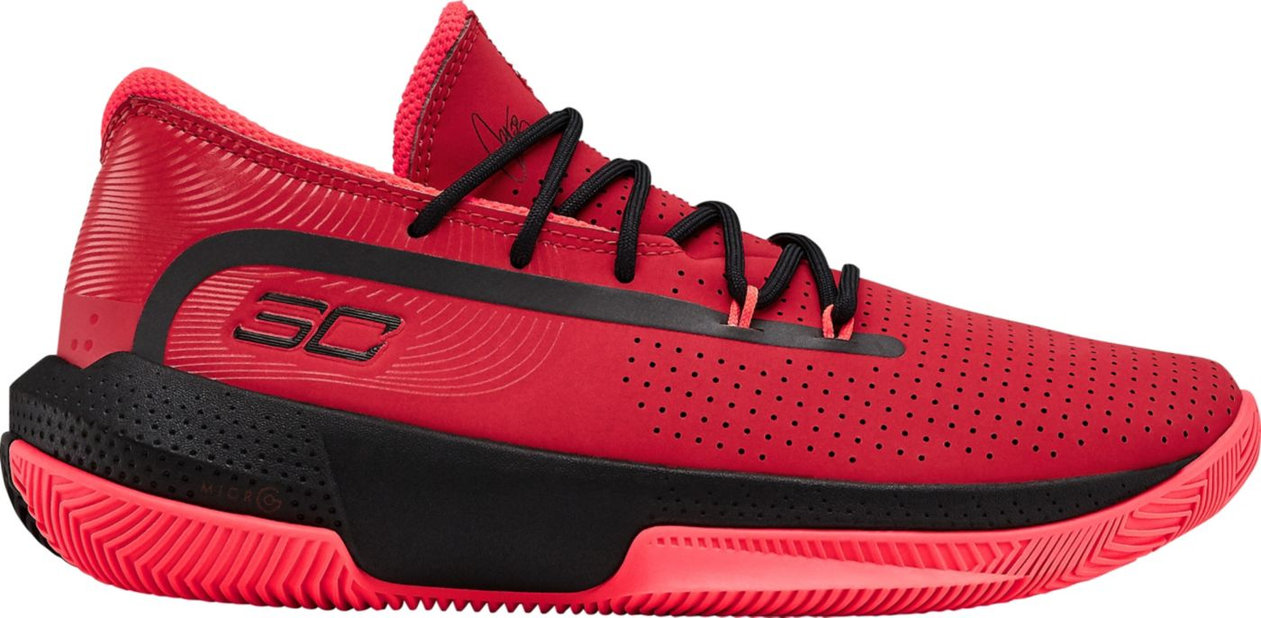 Under Armour Kids' Grade School Curry 3Zer0 3 Basketball Shoes