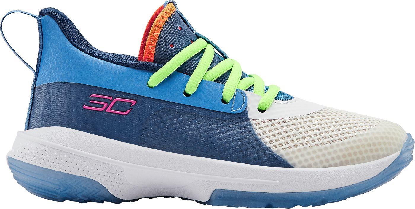 Under Armour Kids' Preschool Curry 7 Basketball Shoes