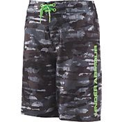 Under Armour Boys' Grit Back Elastic Board Shorts