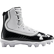 dcfe62bef32d Product Image · Under Armour Kids  Highlight RM Football Cleats · Black  White ...