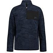 Under Armour Boys' Halftone Camo 1/4 Zip Fleece Jacket