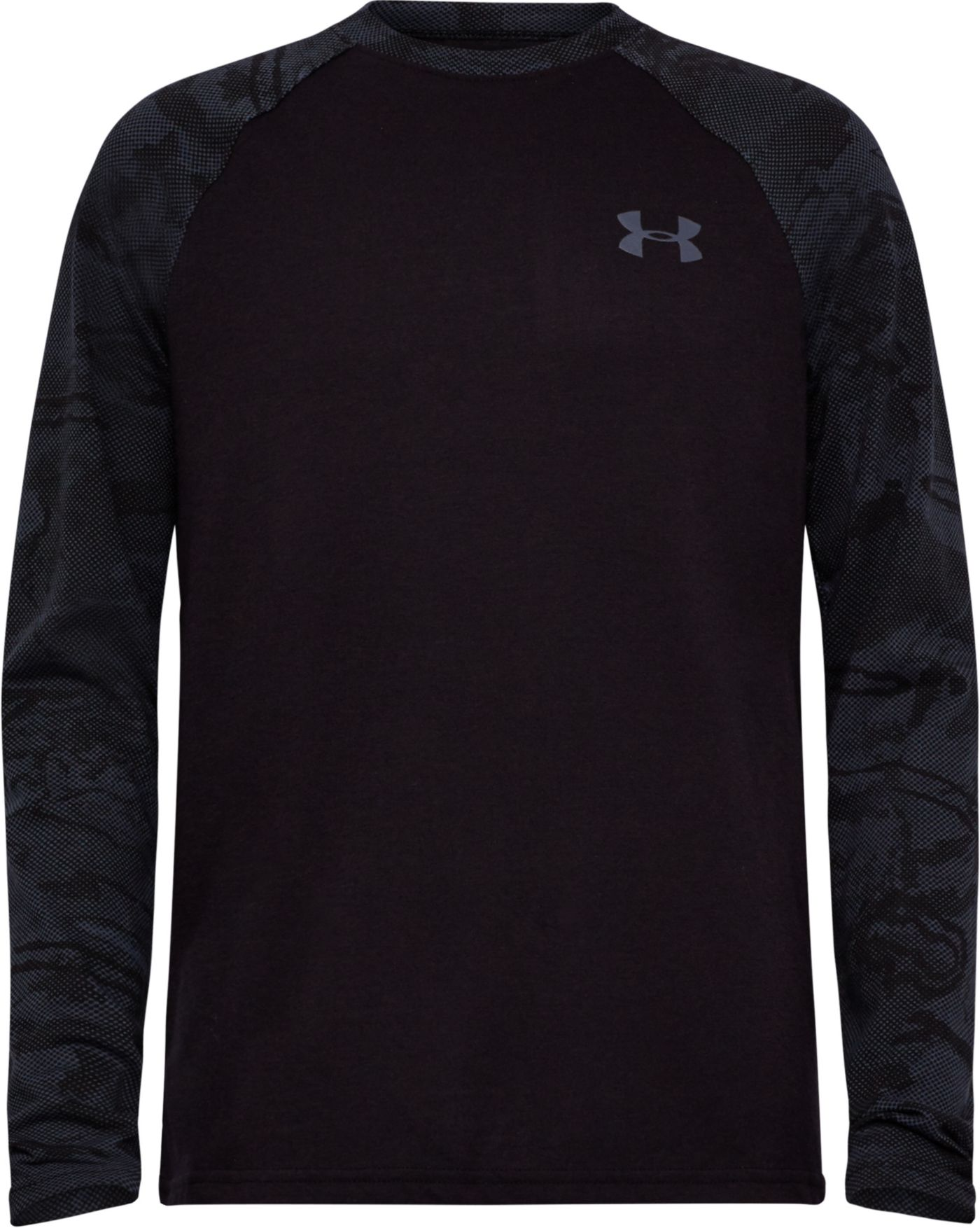 Under Armour Boys' Halftone Raglan Long Sleeve T-Shirt