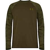 Under Armour Boys' Halftone Raglan Long Sleeve T-Shirt