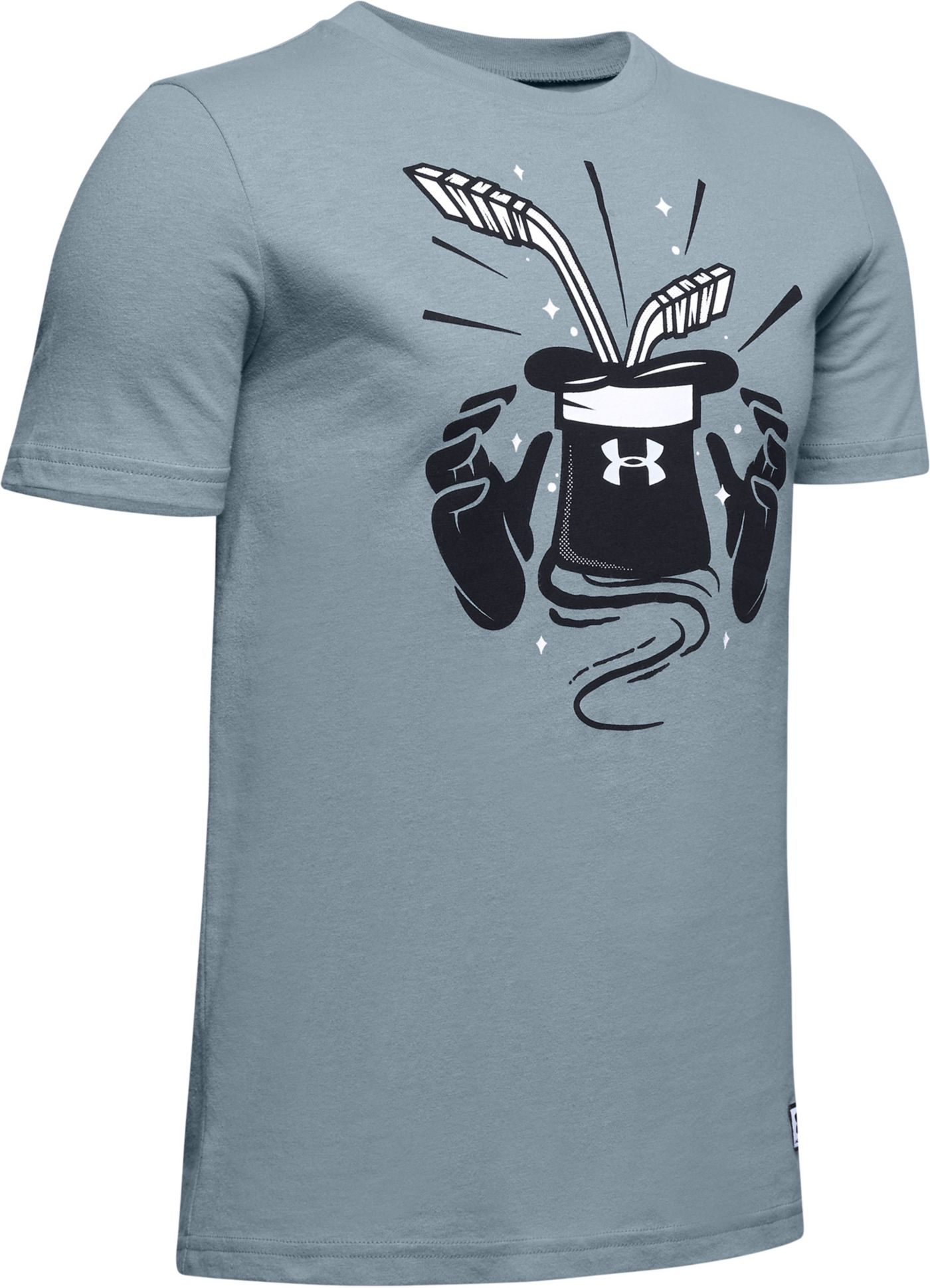 Under Armour Youth Hat Trick Hockey T-Shirt