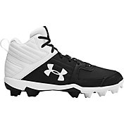 Under Armour Kids' Leadoff Mid Baseball Cleats