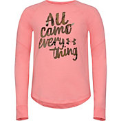 Under Armour Girls' All Camo Everything Long Sleeve Shirt