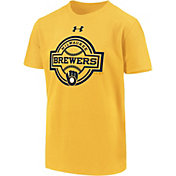 Under Armour Youth Milwaukee Brewers T-Shirt