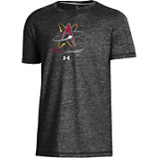 Under Armour Youth Albuquerque Isotopes Black Tri-Blend Performance T-Shirt