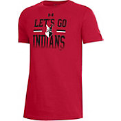 Under Armour Youth Indianapolis Indians Red Performance T-Shirt