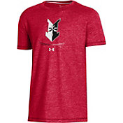 Under Armour Youth Indianapolis Indians Red Tri-Blend Performance T-Shirt