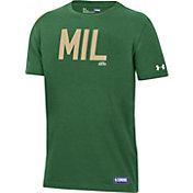 Under Armour Youth Milwaukee Bucks Performance T-Shirt