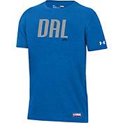 Under Armour Youth Dallas Mavericks Performance T-Shirt