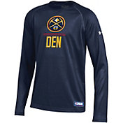 Under Armour Youth Denver Nuggets Lockup Long Sleeve T-Shirt