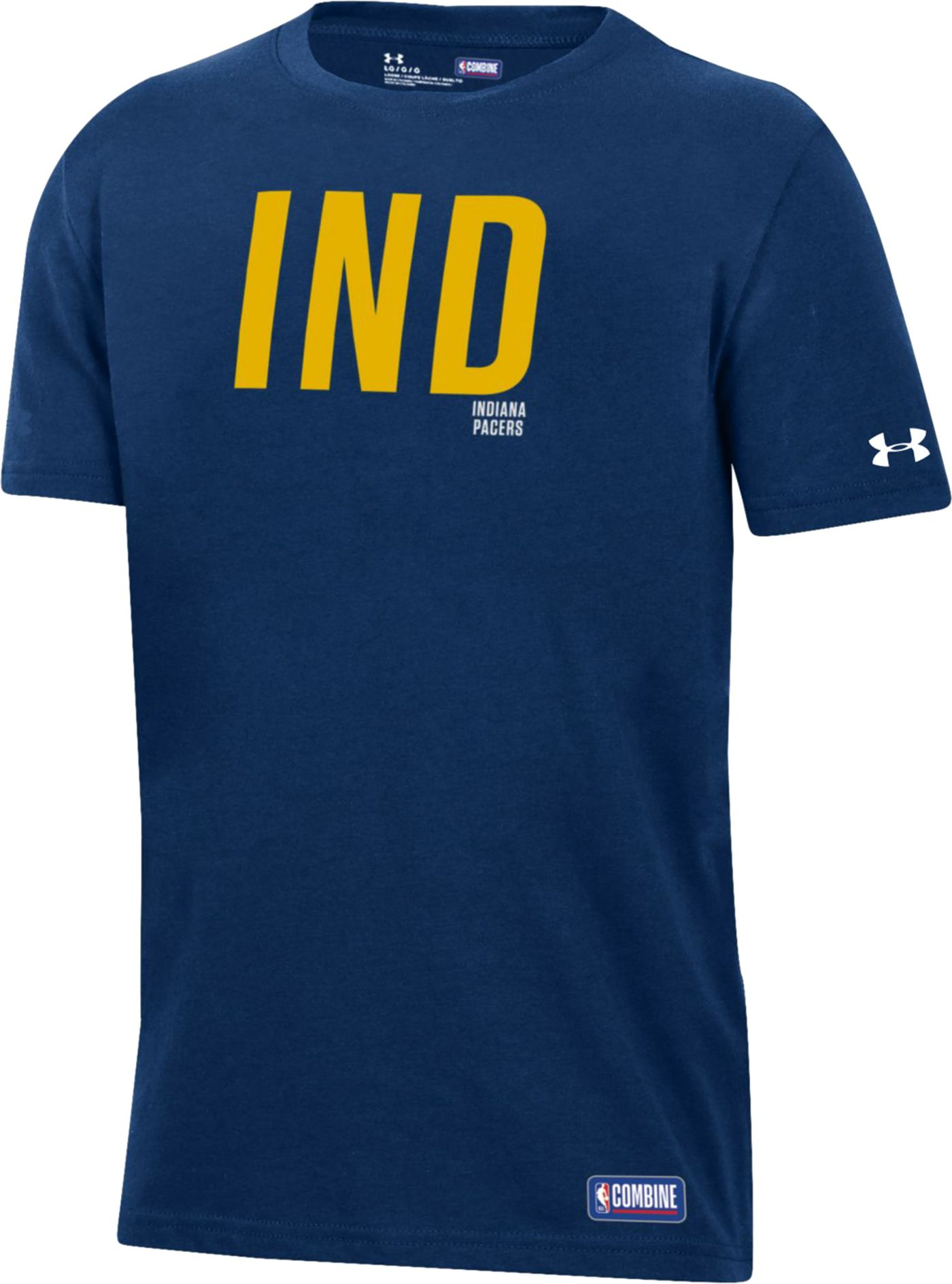 Under Armour Youth Indiana Pacers Performance T-Shirt