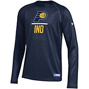 Under Armour Youth Indiana Pacers Lockup Long Sleeve Shirt