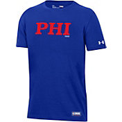 Under Armour Youth Philadelphia 76ers Performance T-Shirt