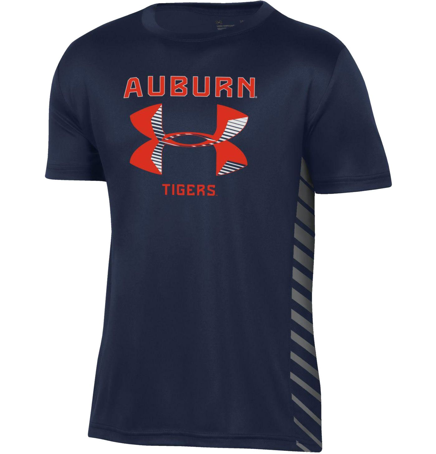 Under Armour Youth Auburn Tigers Blue Performance Novelty T-Shirt