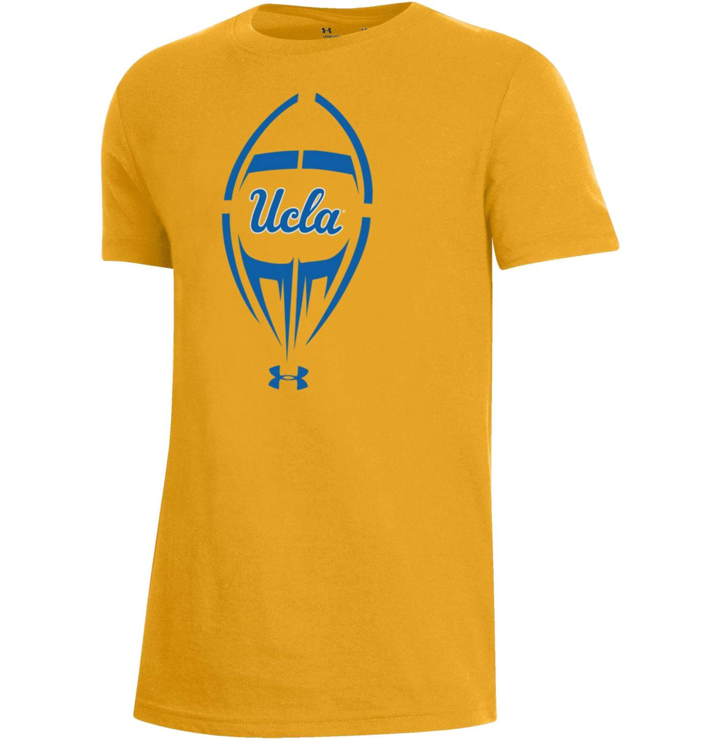 Under Armour Youth UCLA Bruins Gold Performance Cotton Football T-Shirt