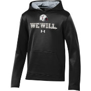 Under Armour Youth Cincinnati Bearcats 'We Will' Armourfleece Performance Football Black Hoodie