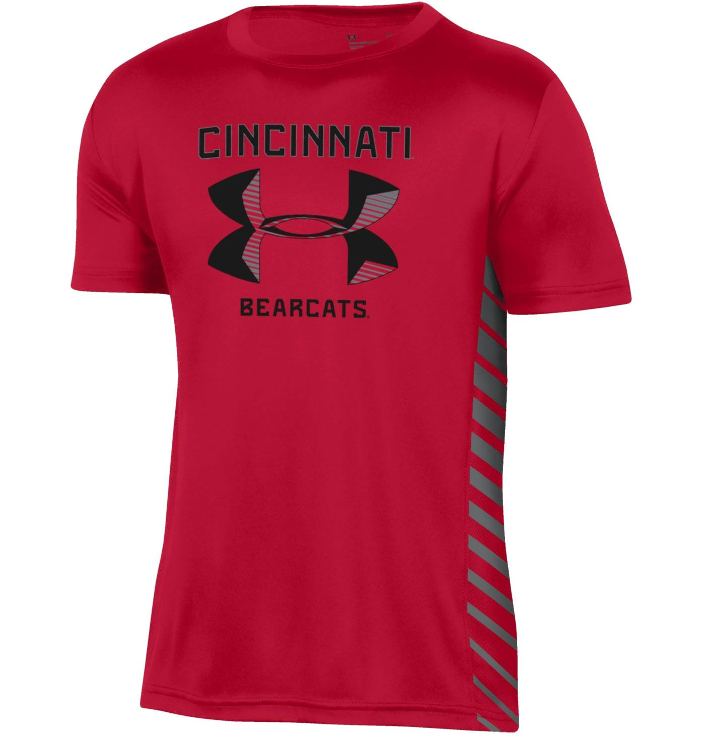 Under Armour Youth Cincinnati Bearcats Red Performance Novelty T-Shirt