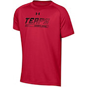Under Armour Youth Maryland Terrapins Red Tech Performance T-Shirt