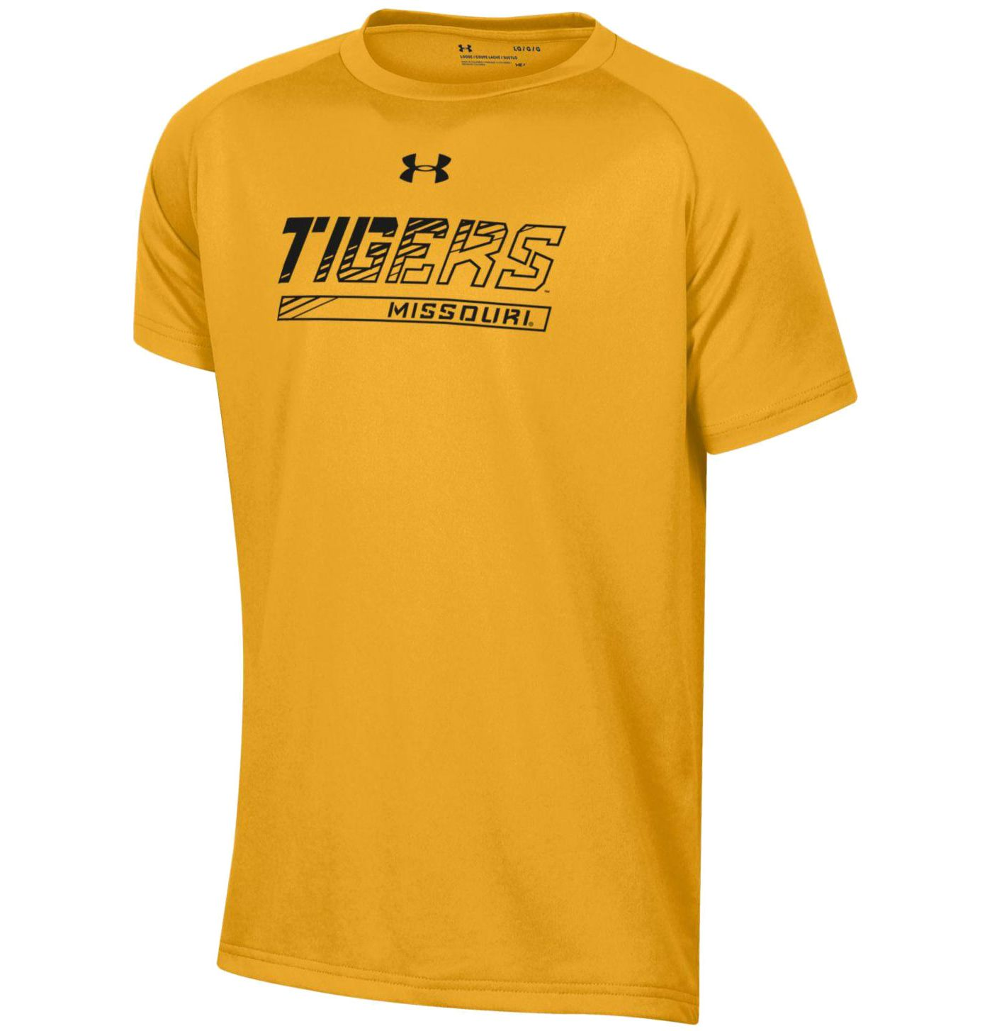 Under Armour Youth Missouri Tigers Gold Tech Performance T-Shirt