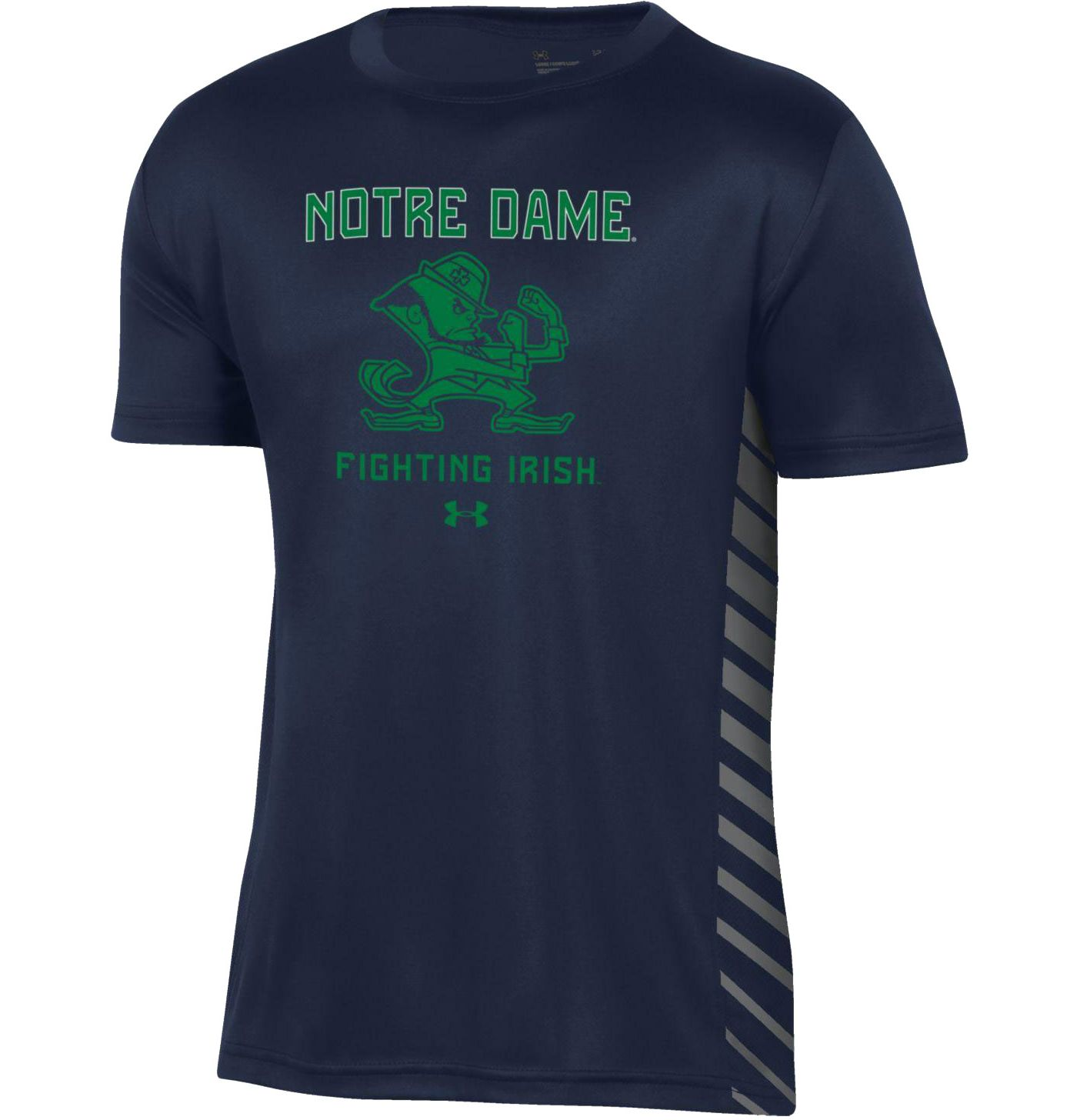 Under Armour Youth Notre Dame Fighting Irish Navy Performance Novelty T-Shirt