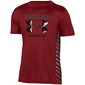Under Armour Youth South Carolina Gamecocks Garnet Performance Novelty T-Shirt