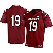 Under Armour Youth South Carolina Gamecocks #19 Garnet Replica Football Jersey