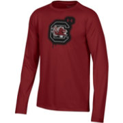 Under Armour Youth South Carolina Gamecocks Garnet Tech Performance Long Sleeve T-Shirt