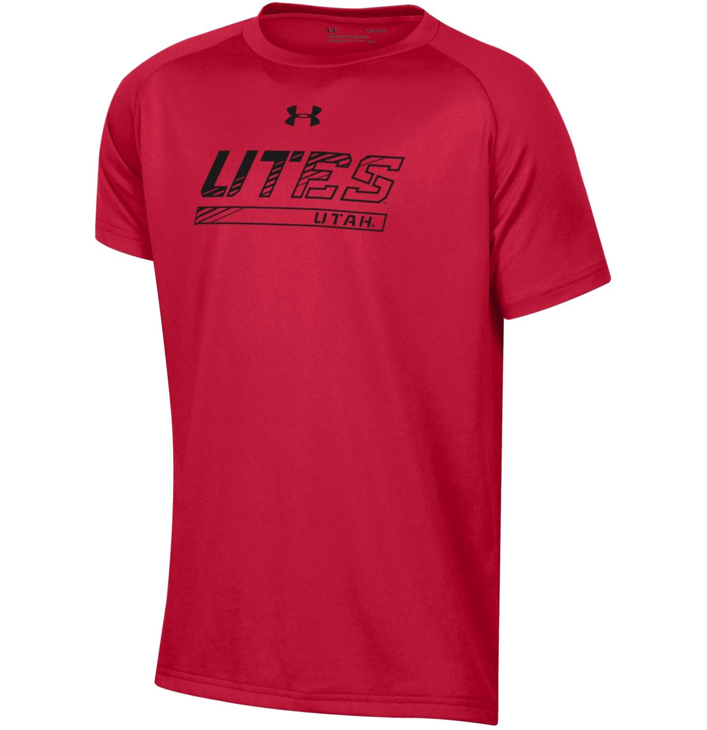 Under Armour Youth Utah Utes Crimson Tech Performance T-Shirt