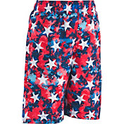 Under Armour Boys' Star Digi Cam Volley Swim Trunks