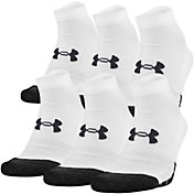 Under Armour Youth Performance Tech Low Cut Socks 6 Pack