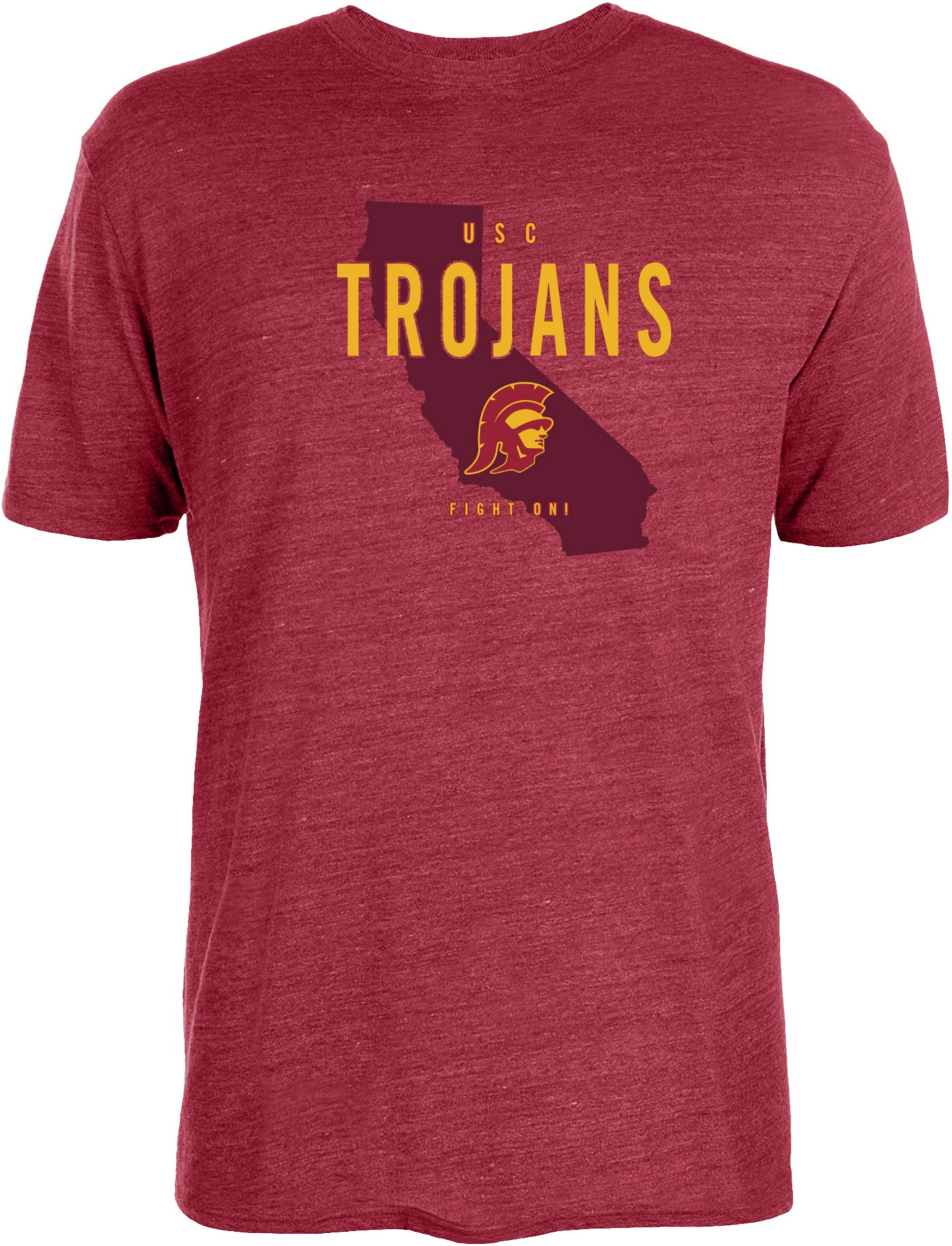 USC Authentic Apparel Men's USC Trojans Cardinal Thorinson T-Shirt