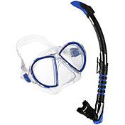 Aqua Lung Sport Adult Duetto ZephyrFlex Snorkel Combo