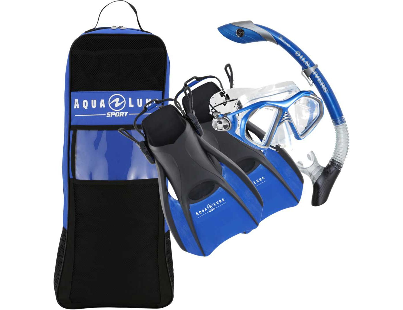 Aqua Lung Sport Adult Trooper Snorkeling Set