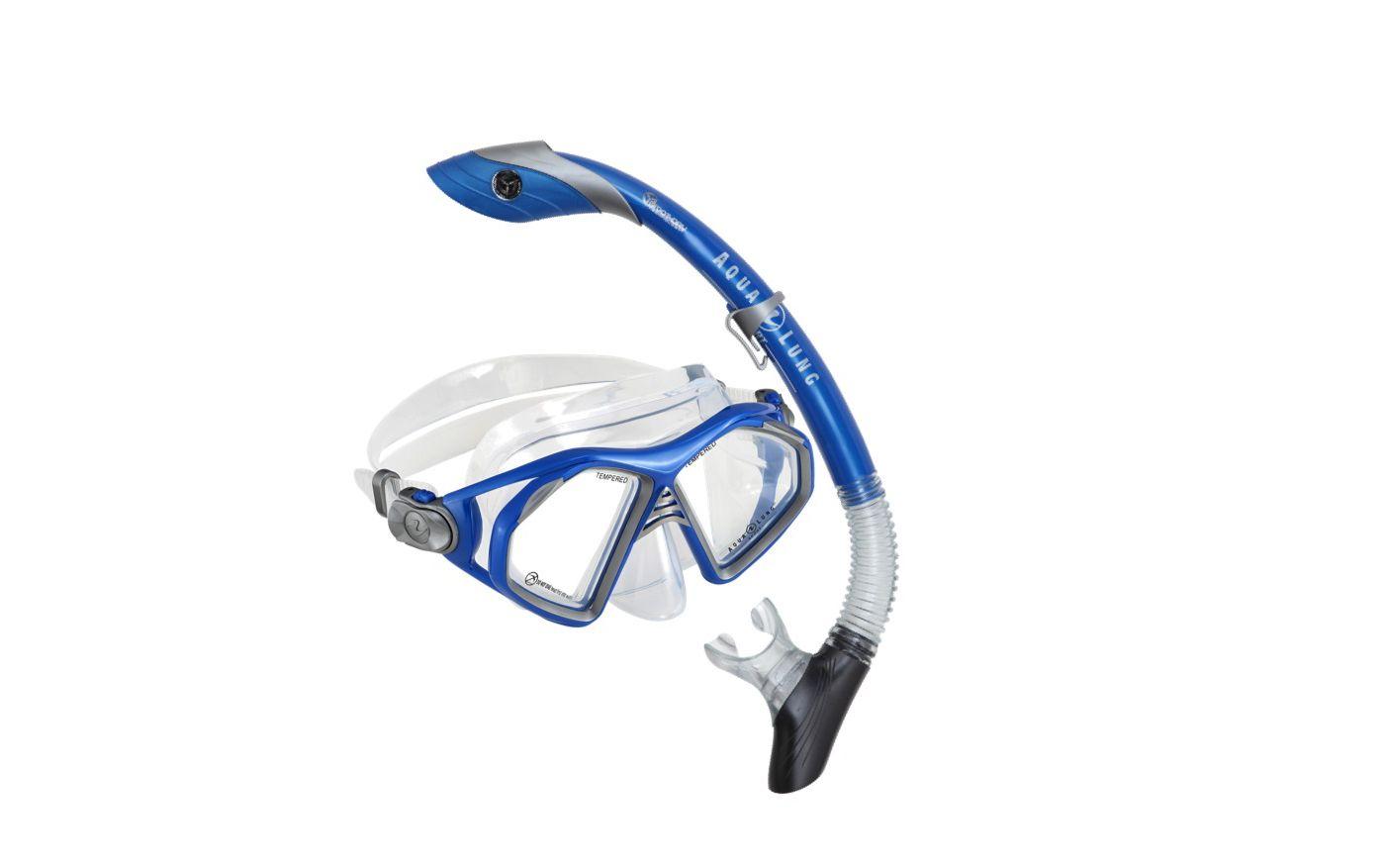 Aqua Lung Sport Adult Trooper Zulu Snorkeling Combo