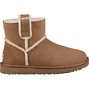 UGG Women's Classic Spill Seam Mini Sheepskin Boots