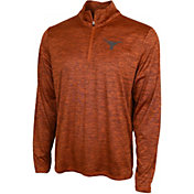 University of Texas Authentic Apparel Men's Texas Longhorns Burnt Orange Whitley Quarter-Zip Shirt