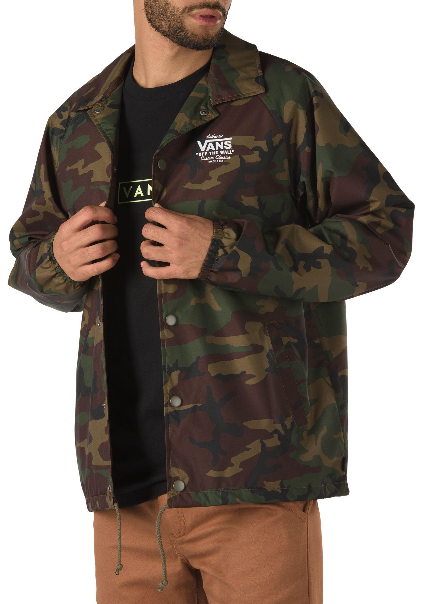 Vans Men's Printed Torrey Coaches Jacket