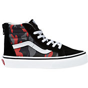 Vans Kids' Grade School Sk8-Hi Camo Shoes