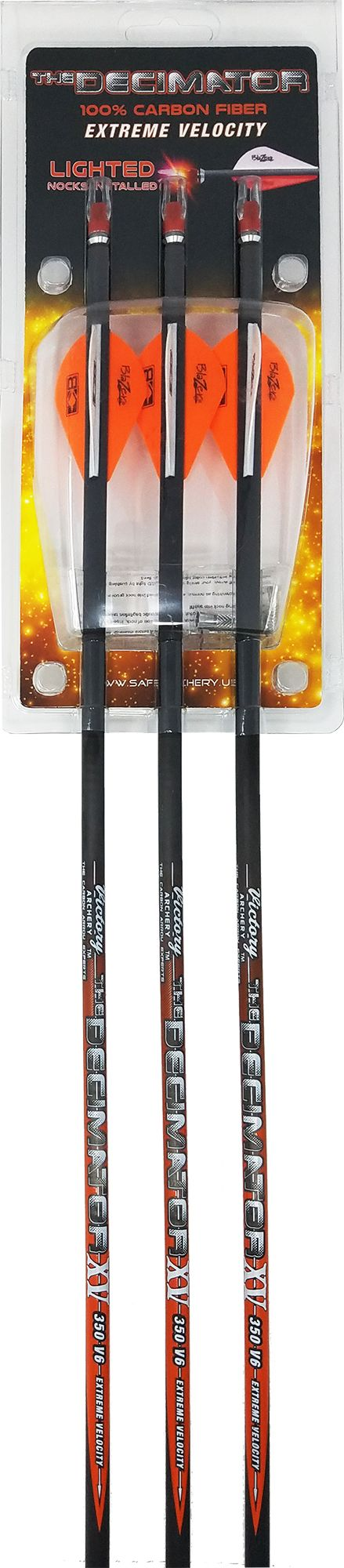 Victory Archery The Decimator Arrows, Size: Small thumbnail
