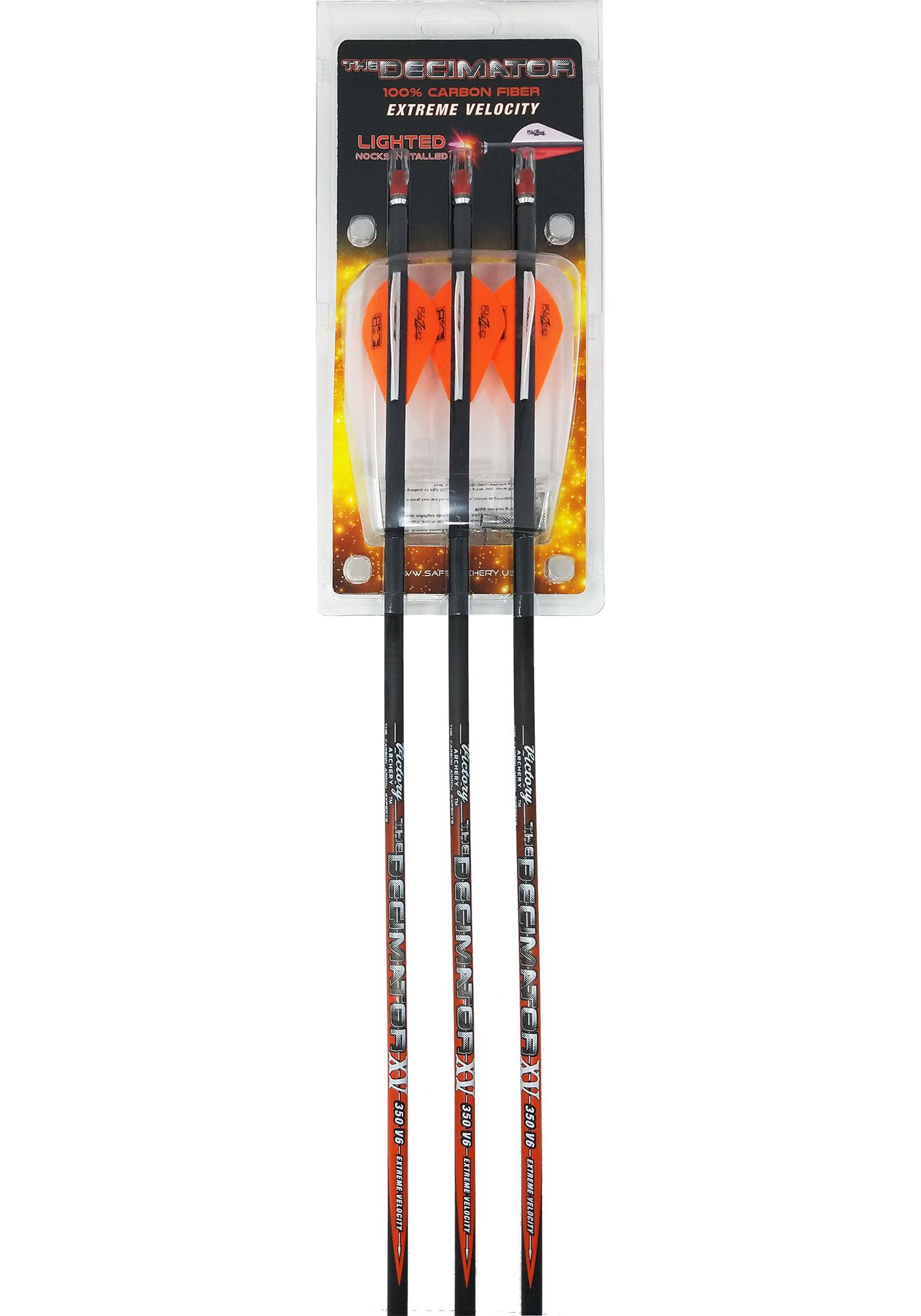 Victory Archery The Decimator Arrows with Lighted Nocks