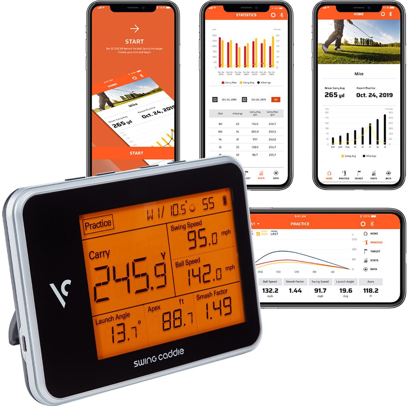 Voice Caddie SC300 Swing Caddie Portable Launch Monitor
