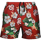 FOCO Men's Ohio State Buckeyes Scarlet Floral Shorts