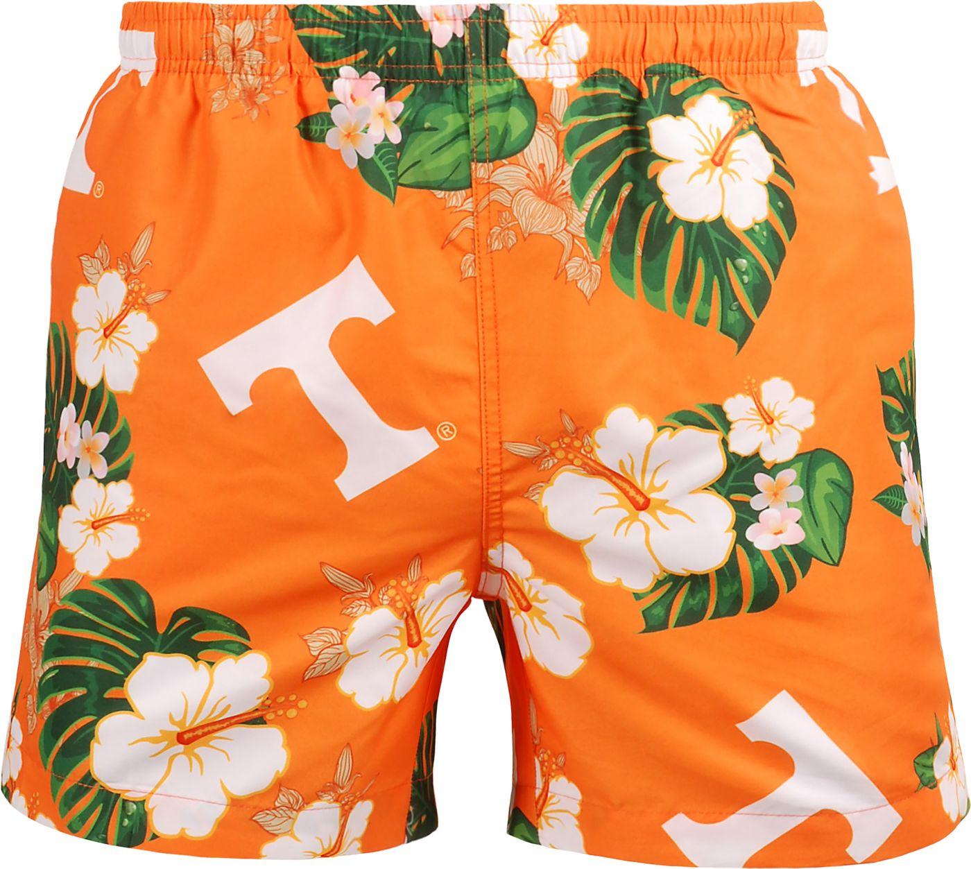 FOCO Men's Tennessee Volunteers Tennessee Orange Floral Shorts