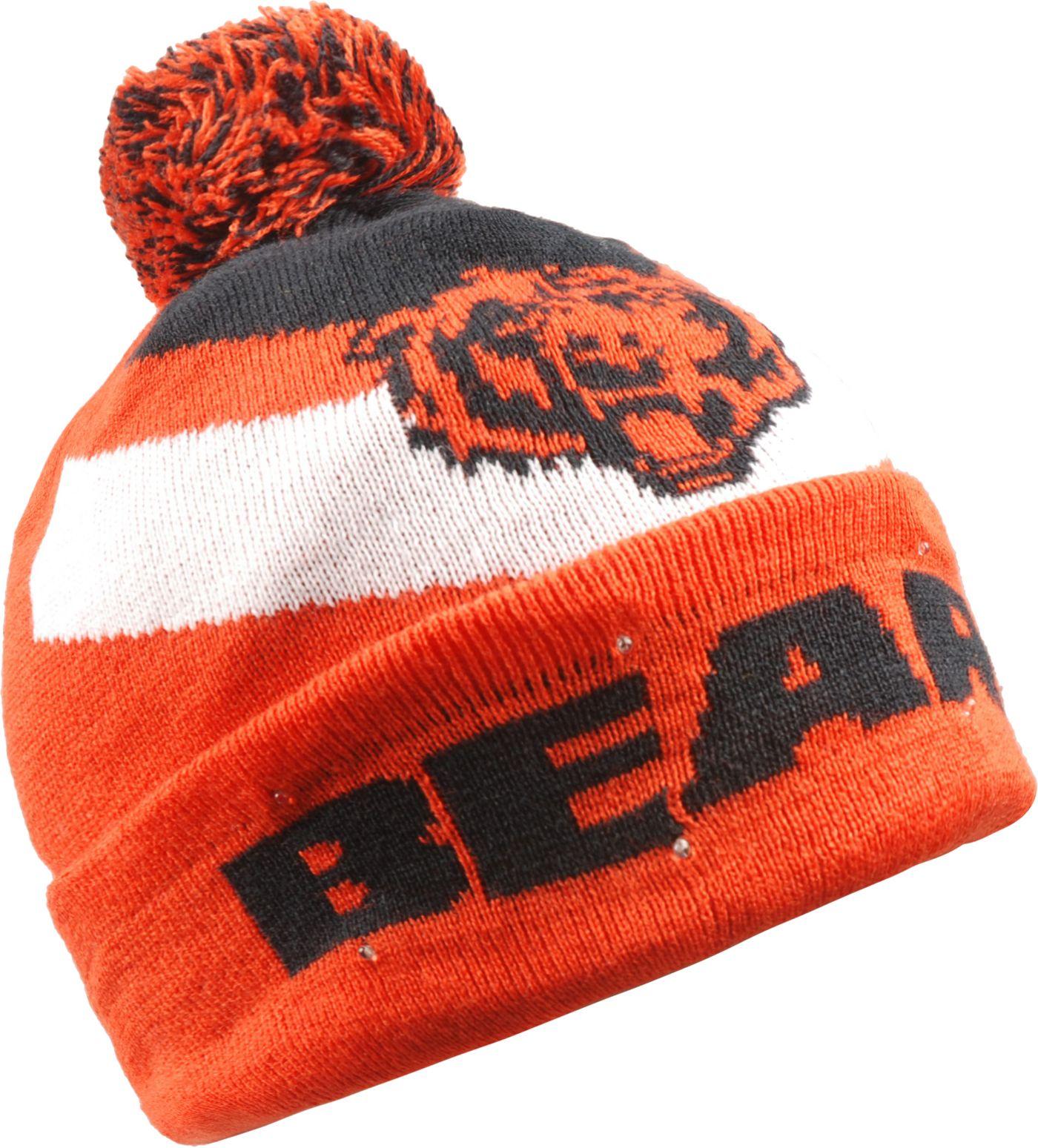 FOCO Men's Chicago Bears Light Up Orange Knit
