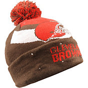FOCO Men's Cleveland Browns Light Up Brown Knit