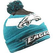 FOCO Men's Philadelphia Eagles Light Up Teal Knit